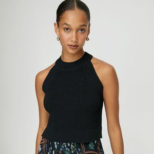 WILFRED | Aritzia Crevier Knit Crop Top | Sz. XS